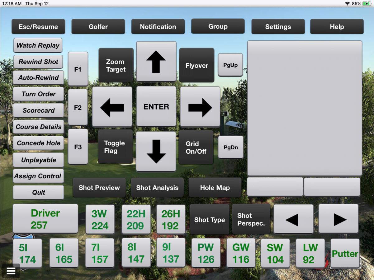 Tgc Club Distances Golf Simulator Forum